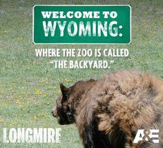 Wyoming zoo. LONGMIRE