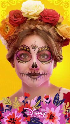 The best wallpaper Disney Channel, Channel 2, Halloween Make Up, Halloween Face Makeup, Sou Luna Disney, Maquillage Halloween, Son Luna, Disney Films, Day Of The Dead