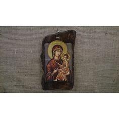 The Virgin Mary the Gorgoepikoos - handmade factory Virgin Mary, Root Beer, Handmade, Art, Beer, Hand Made, Blessed Virgin Mary, Craft, Kunst