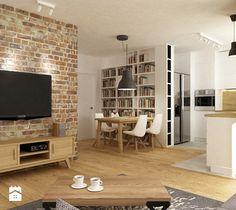 Aranżacje wnętrz - Salon: mieszkanie jasne w stylu nowoczesnym/skandynawskim 60m2 - Salon, styl skandynawski - Grafika i Projekt architektura wnętrz. Przeglądaj, dodawaj i zapisuj najlepsze zdjęcia, pomysły i inspiracje designerskie. W bazie mamy już prawie milion fotografii!