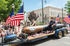 4th of July Parade 2014 Some of our Local Veteran Hero's