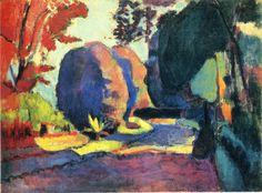 The Terrace, St. Tropez - Henri Matisse - WikiArt.org