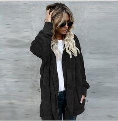 ac0ea8a1305 Both Sides Wear Faux Fur Long Winter Jacket Women Autumn Winter Warm Coat Thicken  Hooded Parka Women Outwear