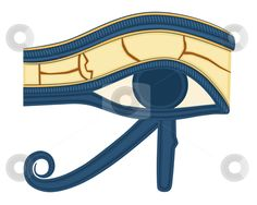 Eye of Horus print craft