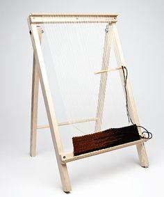 rag rug weave loom