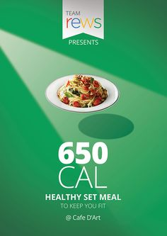 Calorie Counted Diet Food Poster