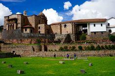 Coricancha-Cusco, Peru. The Incas' temple of the sun. It's impressive and beautiful!