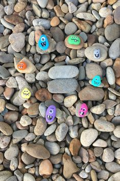 8 Ultimate Painted Rock Monsters For Kids To Make That Will Blow Your Mind | Crafts for Kids | We're Bright At Home
