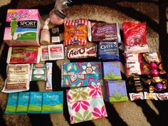 period subscription box | Icelily A New Canadian based period subscription box review | Crystal ...
