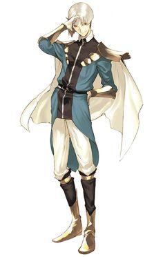 Phillip - Characters & Art - Shining Force EXA