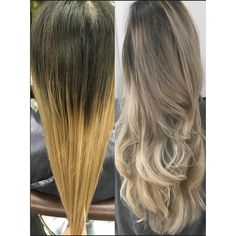 TRANSFORMATION: Brassy Ombre to Ashy Sombre | Modern Salon