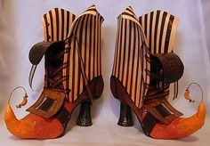 altered shoes | Art Bliss' Witch Boots