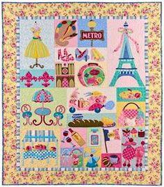 vintage applique quilt patterns | Mon Ami Applique Quilt Pattern by The Vintage Spool, FREE SHIPPING ...