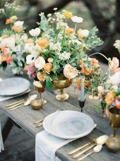 Los 25 centros de mesa más románticos para decorar tu boda en 2016 Image: 6