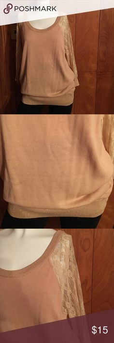 Brand New very Cute Top. Plus size top brand new with tags. It's a Rose color. It's very nice top. Forever 21 Tops