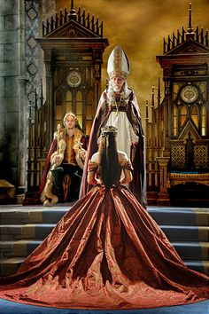 """Reign -- """"Coronation"""" -- Image Number: -- Pictured (L-R): Toby Regbo as King Francis II and Adelaide Kane as Mary, Queen of Scotland and France (back to camera) -- Photo: Ben Ben Mark Holzberg/The CW -- © 2014 The CW Network, LLC. All rights reserved. Mary Stuart, Mary E Francis, Serie Reign, Reign Tv Show, Reign Dresses, Reign Fashion, Film Fashion, Fashion Beauty, Shadowhunters"""