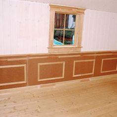 Dekoratívny drevený obklad pre oživenie stien