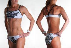 Tattoo Bikini by Betty Designs... Goodness!!!!  I want!!!!