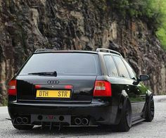 Audi C5 S6 Avant  From @mannyhighroller_