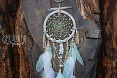 Dream catcher Young Moon Spirit dreams on waves