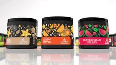 """Al Fakher was in pursuit of a new and vibrant update to their molasses packaging. They commissioned CBA Memac to develop a new design for their special edition of molasses packaging that is specific to the US Market. """"The end result is unique collectable tins each expressing their own individual character."""""""