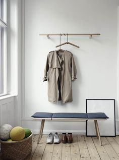 Danish design company with roots deeply grounded in Scandinavian design and tradition for good craftsmanship. Decoration Hall, My New Room, Furniture Collection, Scandinavian Design, Home And Living, Simple Living, Interior Styling, Wardrobe Rack, Interior Inspiration