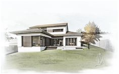 House MR / Sigle Family House / Location: Sibiu / Year: 2014 / Team: Mihai Sima, Raluca Sabău / 3D Visualisation: Emese Luha