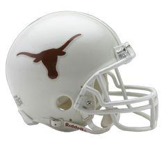 University of Texas Longhorns football game helmet Football Helmet Design, College Football Helmets, Football Memorabilia, Texas Longhorns Football, Texas Rangers, Dallas Cowboys, Helmet Logo, University Of Texas, Ebay Sports