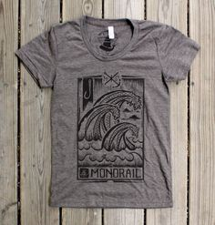 Great Wave Womens Tri-Coffee Wearing Black, Photo And Video, Wave, Tees, Mens Tops, How To Wear, T Shirt, Clothes, Shopping