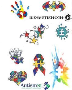 Autism tattoo design ideas 65