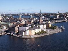 In volo su Stoccolma - Svezia