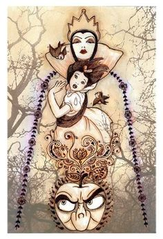 cool snow white poster