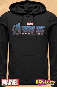 Marvel Comics Avengers Infinity War Hologram Logo Full Length Zipper Hoodie