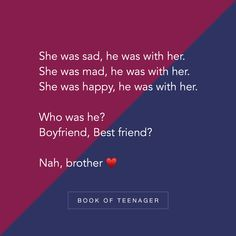 Book Of Teenager ( Brother Birthday Quotes, Little Boy Quotes, Sister Quotes Funny, Brother Sister Quotes, Nephew Quotes, Funny Sister, Real Life Quotes, Reality Quotes, Relationship Quotes