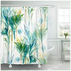 Beach Shower Curtains and Coastal Shower Curtains We Love! Discover the top-rated beach themed shower curtains for your home. You will love all of the nautical shower curtains we have listed. Tropical Shower Curtains, Nautical Shower Curtains, Tropical Showers, Nautical Bathroom Decor, Cool Shower Curtains, Beach Theme Bathroom, Beach Theme Shower Curtain, Seashell Shower Curtain, Abstract Watercolor