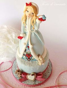 Edible Art, Winter Girl