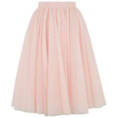 Ted Baker Odella Netted Tutu Skirt ($390) ❤ liked on Polyvore featuring skirts, ted baker skirt, net skirt, pink tutu, sparkle skirts and ted baker