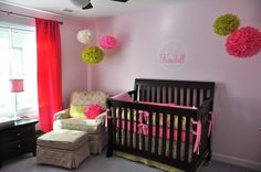Kendall's Girly-Girl Nursery  by: piumkrazy1
