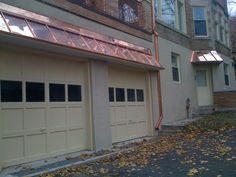 copper roof and gutter