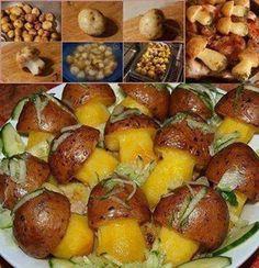 Ako vyrobiť terakota fontánku do záhrady (Videonávod) Cute Food, A Food, Good Food, Food And Drink, Yummy Food, Food Art, Slovak Recipes, Buffet, Iranian Food