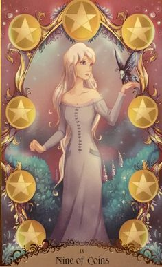Card of the Day – 9 of Pentacles – Tuesday, November 2019 « Tarot by Cecelia Meaning Of Gypsy, Tarot By Cecelia, Pentacle, Tarot Decks, Best Relationship, Tarot Cards, Tuesday, Aurora Sleeping Beauty, November