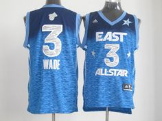 Adidas NBA All Star 2012 3 Dwyane Wade Eastern Conference Jersey