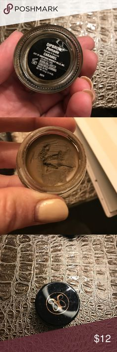 Authentic dipbrow pomade Used but still full. Color caramel Anastasia Beverly Hills Makeup Eyebrow Filler