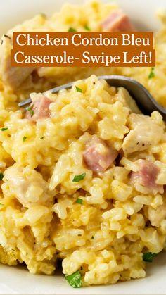 Crock Pot Recipes, Easy Casserole Recipes, Healthy Crockpot Recipes, Casserole Dishes, Easy Dinner Recipes, Chicken Recipes, Easy Meals, Cooking Recipes, Make Ahead Meals
