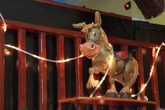 El Cuento bar. Nuestro burrito en navidad