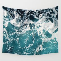 Churning Water Wall Tapestry