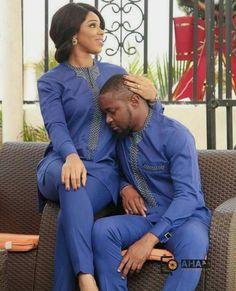 Top 17 Yoruba Demon Wears For First Class African Couples Couples African Outfits, African Clothing For Men, African Shirts, African Dresses For Women, Couple Outfits, African Print Fashion, Africa Fashion, African Attire, African Wear