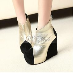 New 2012 Fall Platform Heel Round-toe Boots Wedding Shoes ,shoes,fall platform heels,boots,tbdress boots price:$38.99