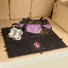 Protect your cargo area and show your team pride with this University of South Dakota Heavy Duty Vinyl Cargo Mat by Fanmats. These Heavy Duty Vinyl Cargo Mats will easily fit in cars, SUVs and trucks