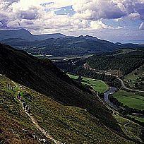 Precipice walk in Wales. Spectacular.